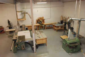 Woodworking Space for Rent