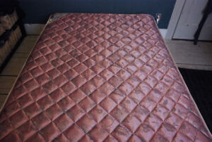 Two Year Old Double Mattress + Boxspring Must Go Quickly