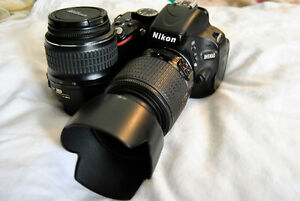 lowest at kijiji nikon AF-D5100 with two lenses