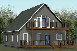 3 Bedroom, 2 Bathroom 2 Story Cottage (#16189) Grandeur Housing