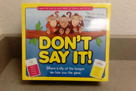 Don't say it game