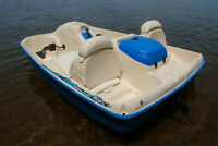 gently used pedal boat