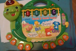 Vtech and leapfrog learning toys