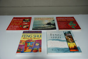 Feng Shui - Interior Design Books - Collection of 4 For Sale