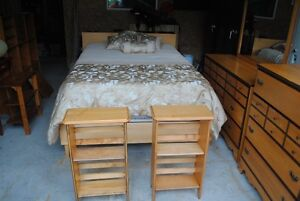 Double Bedroom set with dressers and mattresses $800