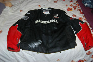 Suzuki Joe Rocket riding jacket