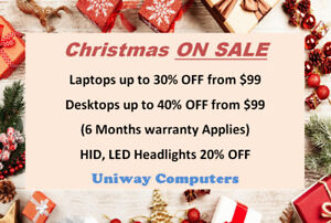 ~Christmas DEALS~~ Laptops UP TO 30% OFF ---Uniway