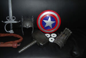 MARVEL DISNEY PRETEND WEAPONS AND DRESSUP COSPLAY
