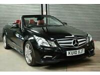 2010 Mercedes-Benz E Class E350 CDI BlueEFFICIENCY Sport 2dr Tip Auto CONVERTIBL