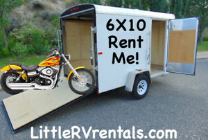 6x10 cargo trailer for rent