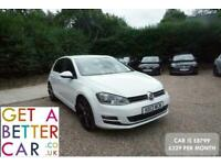 2013 Volkswagen Golf 2.0 TDI GT 5dr - CAR IS £8799 - £220 PER MONTH HATCHBACK Di