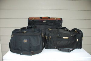 American Tourist Bags (set of 3: garment and two duffels)
