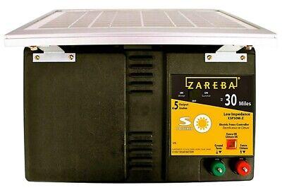 New Zareba Esp30m-z 30 Mile 7800 V Solar Powered Fencer Low Impedance 7227432
