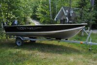 2013 Lund WC-14 with 9.9 HP Yamaha - Trailer $5999