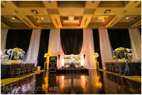 Backdrop and Draping - Decor - Weddings - Special Event Rentals