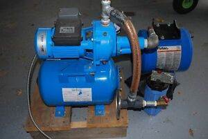 Jet Pump with extra tank