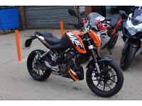 2014 - KTM 125 DUKE ABS, IMMACULATE CONDITION, £3,250 OR FLEXIBLE FINANCE