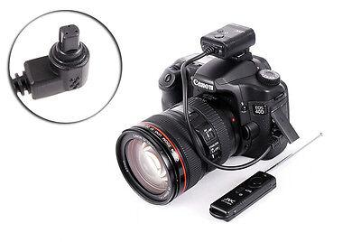 Funk Fernauslöser passend zu Canon EOS Anschluss 7D 50D 40D  5D 5D Mark II...