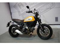 2015 - DUCATI SCRAMBLER CLASSIC ABS 803CC, £5,900 OR FLEXIBLE FINANCE