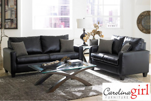 Brand NEW San Marino Ebony Sofa & Loveseat! Call 306-347-3311!
