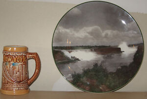 Beer Stein & Collectors Plate