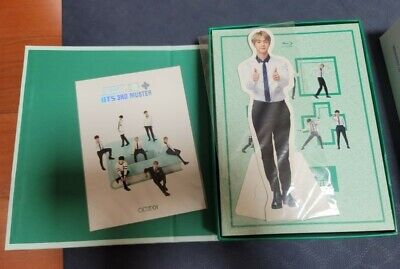 BTS 3RD MUSTER Amry.Zip+ Blu-Ray 2disc + Booklet 16p + Jin Standing Photo Cheap