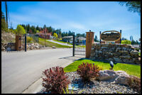 FULLY SERVICED Building Lot SALMON ARM