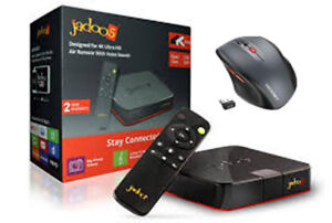 jadoo  4 box like new with  wireless mouse and memory card