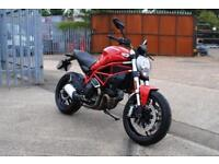 2017 DUCATI MONSTER 797 72 BHP, IMMACULATE CONDITION, £6,300 OR FLEXIBLE FINANCE