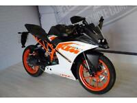 2016 - KTM RC 125, BRAND NEW CONDITION, £3,750 OR FLEXIBLE FINANCE TO SUIT YOU