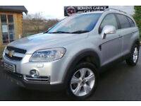 2010 CHEVROLET CAPTIVA LTZ 2.0VCDI 4X4 7 SEATER - 6 SERVICES - CAMBELT REPLACED
