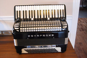Piano Accordion Excelsior Full Size Concert