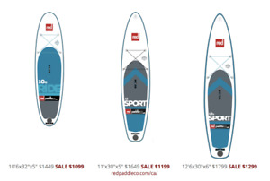 SUP Boards by Red Paddle Co and Surftech!