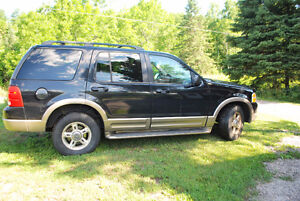 2002 Ford Explorer SUV, Crossover