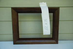 Custom Picture Frame 12x16 (lighter brown #2011-078)