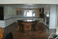 Fitak Woodcraft offers Kitchens built ins and woodworking