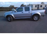 2003 Nissan Navara D22. 89,000 miles, 1 previous owner.