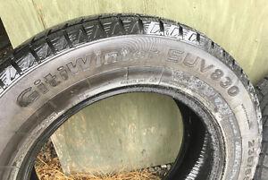 Winter tires $400.00 OBO