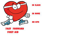Need your First Aid?  We can help!