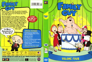 Family Guy, Volume Four - 3 DVD Set, NEW, Sealed
