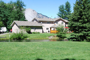 Mountain-Side 4.55 Acres with Waterfall & Pond on Munic. Water