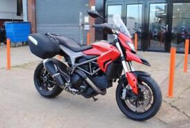 2014 DUCATI HYPERSTRADA 821CC, IMMACULATE CONDITION, £6,495 OR FLEXIBLE FINANCE