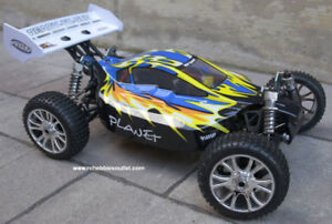 New Brushless Electric RC Buggy /Car 1/8 Scale 4WD LIPO RTR