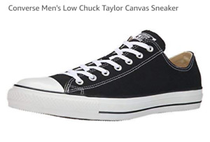 Converse Unisex Chuck Taylor All Star Low Top Classic Black Shoe