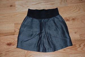 Zara Bottoms Gray Mini Skirt