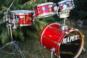 """MAPEX MARS PRO COMPACT DRUMS WITH 18"""" KICK DRUM"""