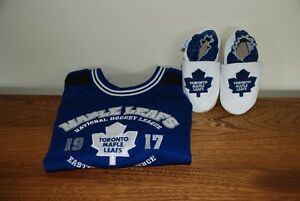 Toronto Maple Leaf infant jersey & booties