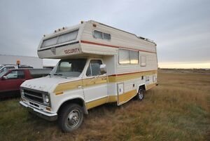 1977 Ford Chateau Security Motorhome