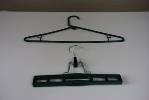 Clothes Hangers For Sale - 115 Green Regular & Pant/Skirt
