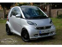 2013 / 63 SMART FORTWO 1.0 BRABUS XCLUSIVE SOFTOUCH [102 BHP] 2 DOOR COUPE